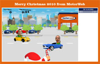 Motorweb Christmas Game