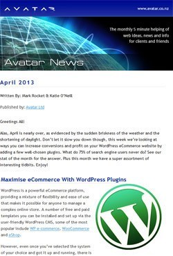Avatar Newsletter