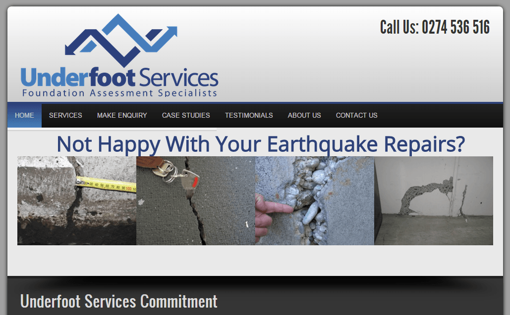 SEO For Underfoot Services