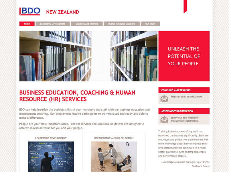 BDO Business Education