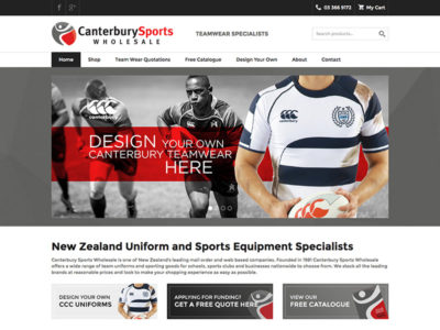 Canterbury Sports Wholesale