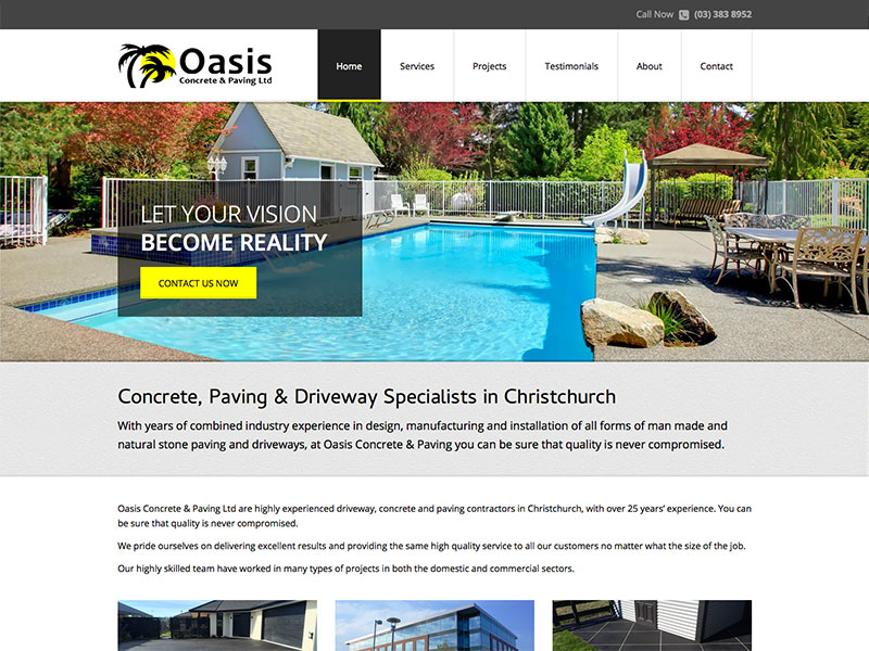 Oasis Concrete & Paving
