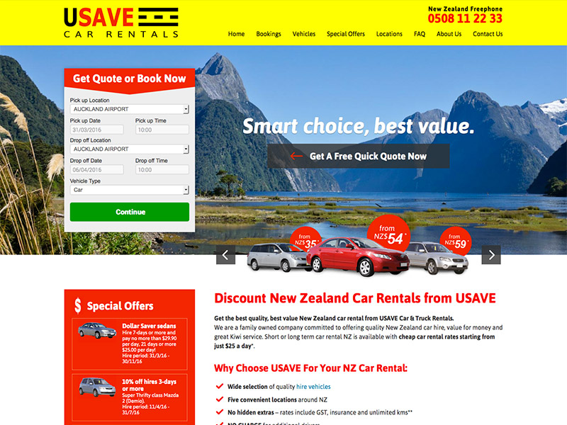 USAVE Rental Cars