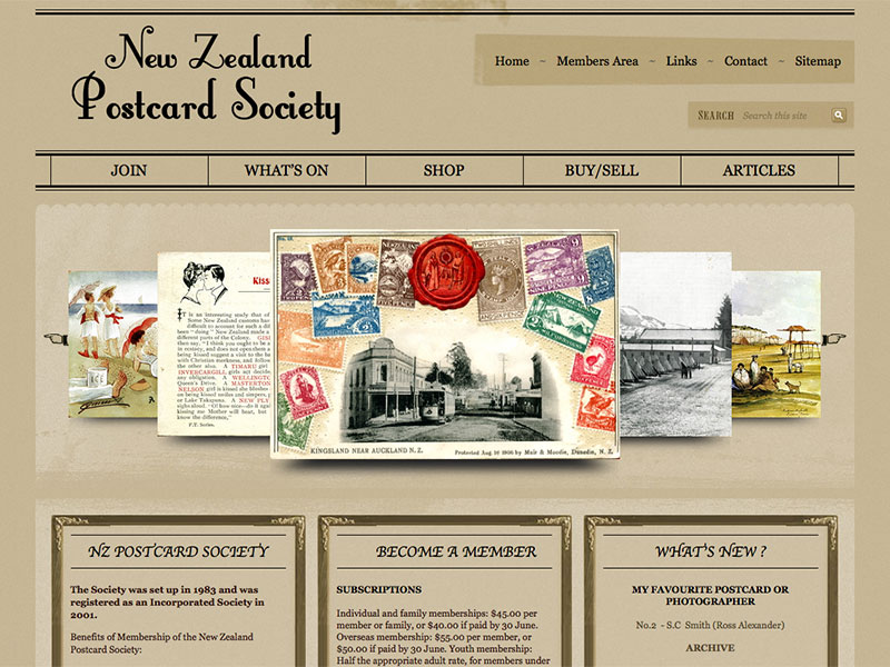 New Zealand Postcard Society
